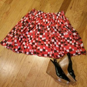 Banana Republic Flared Skirt